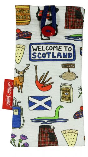Selina-Jayne Scotland Limited Edition Designer Soft Glasses Case